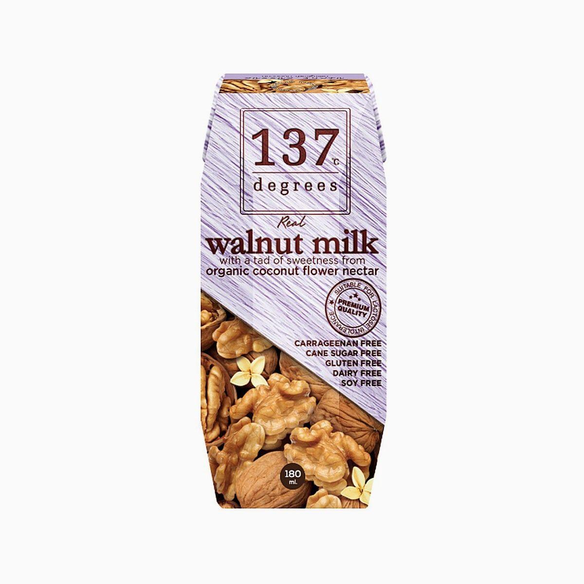 Молоко из грецкого ореха, 137 Degrees, 180 мл