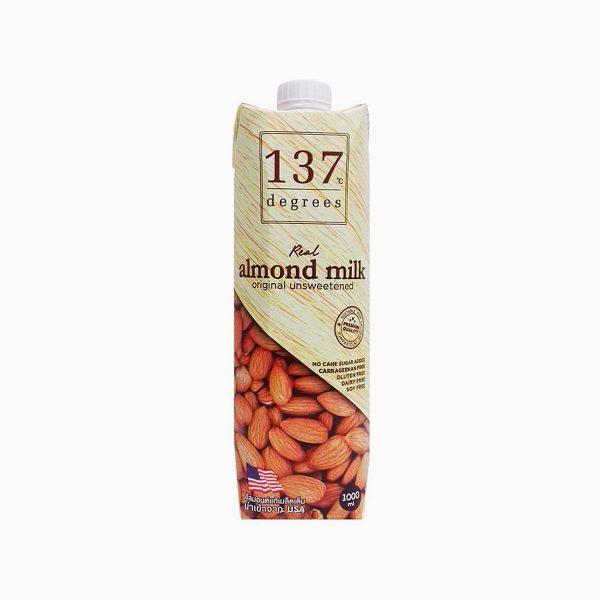 Молоко миндальное без сахара, 137 Degrees, 1 л