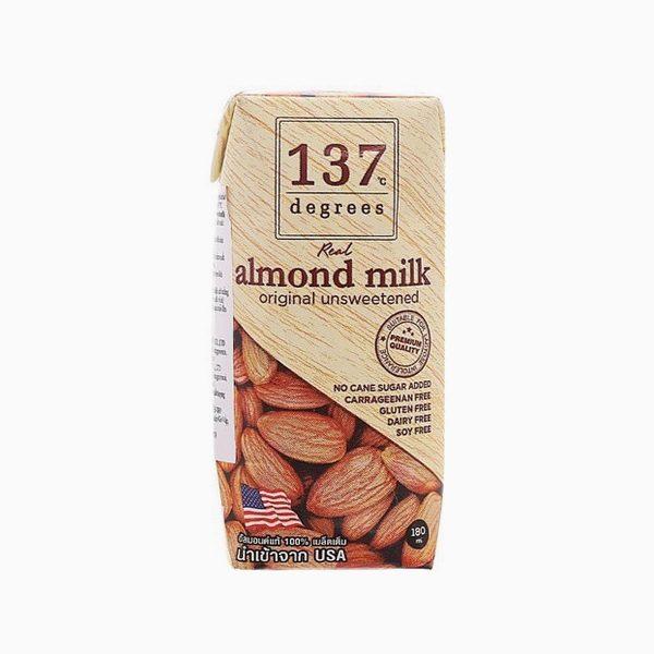 Молоко миндальное без сахара, 137 Degrees, 180 мл