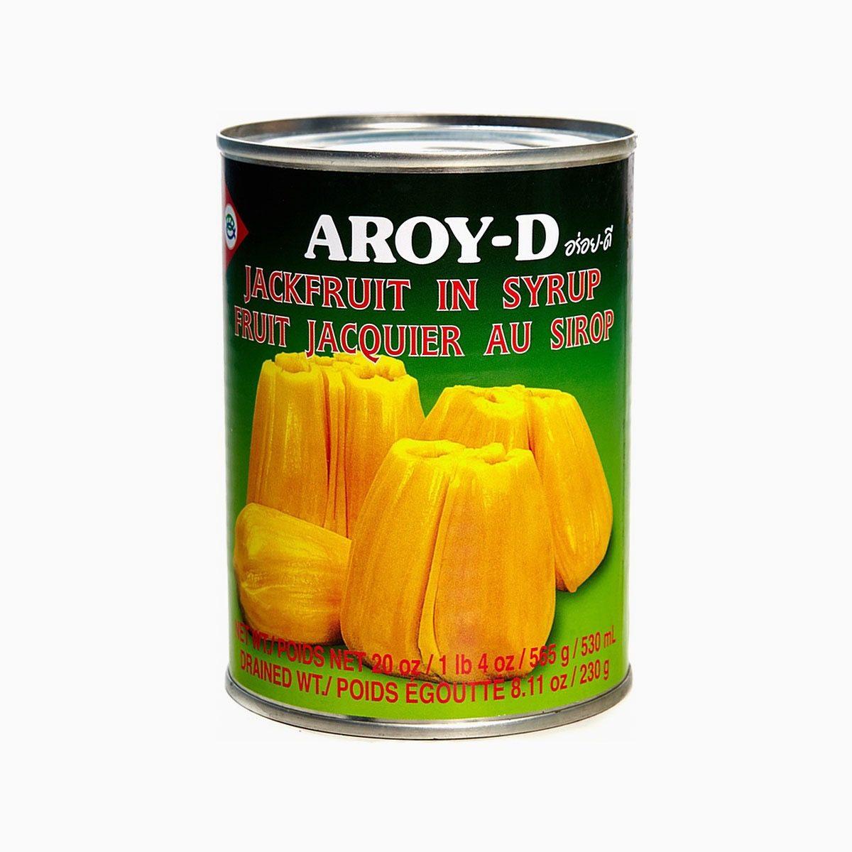 Джекфрут в сиропе, Aroy-d, 565 гр