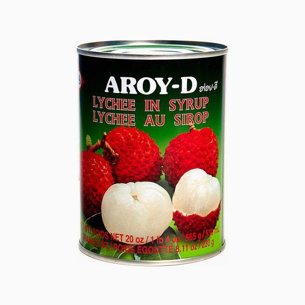 Личи в сиропе, Aroy-d, 565 гр