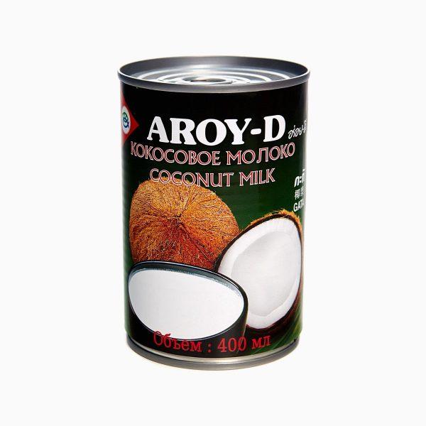 Кокосовое молоко 60%, Aroy-d, 400 мл