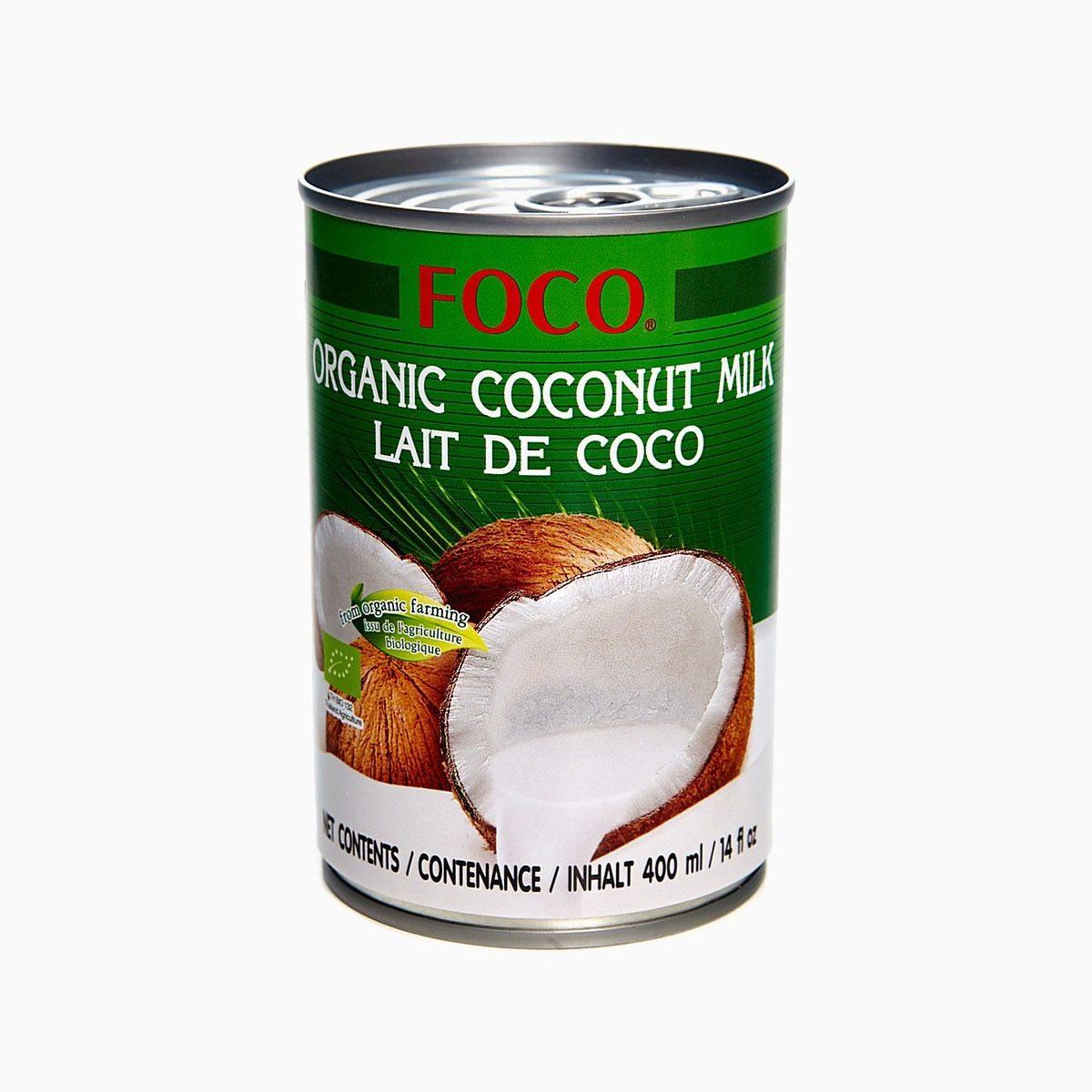Кокосовое молоко органическое, Foco, 400 мл