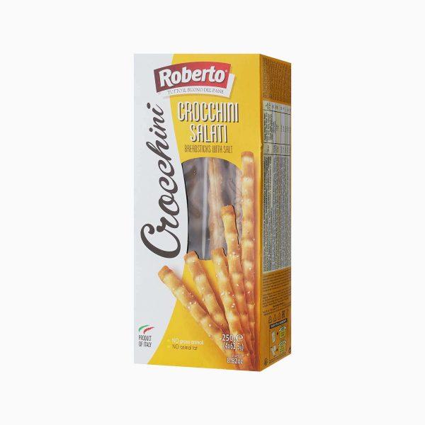 Хлебные палочки Гриссини соленые, Roberto, 250гр