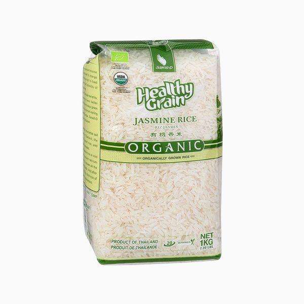 Рис органический Жасмин, Sawat-D, 1 кг