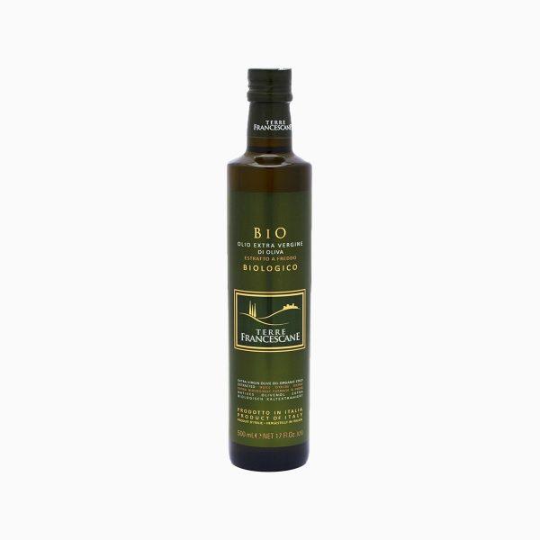 Масло Оливковое нерафинированное Biologico, Terre Francescane, 0,5 л
