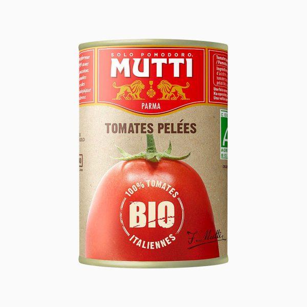 Томаты очищенные целые в томатном соке БИО, Mutti, 400 гр