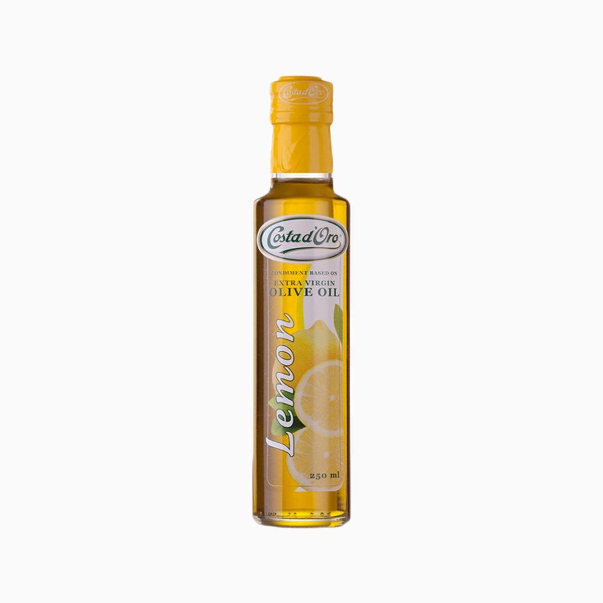 Масло Оливковое нерафинированное с лимоном, Costa D`Oro, 250 мл