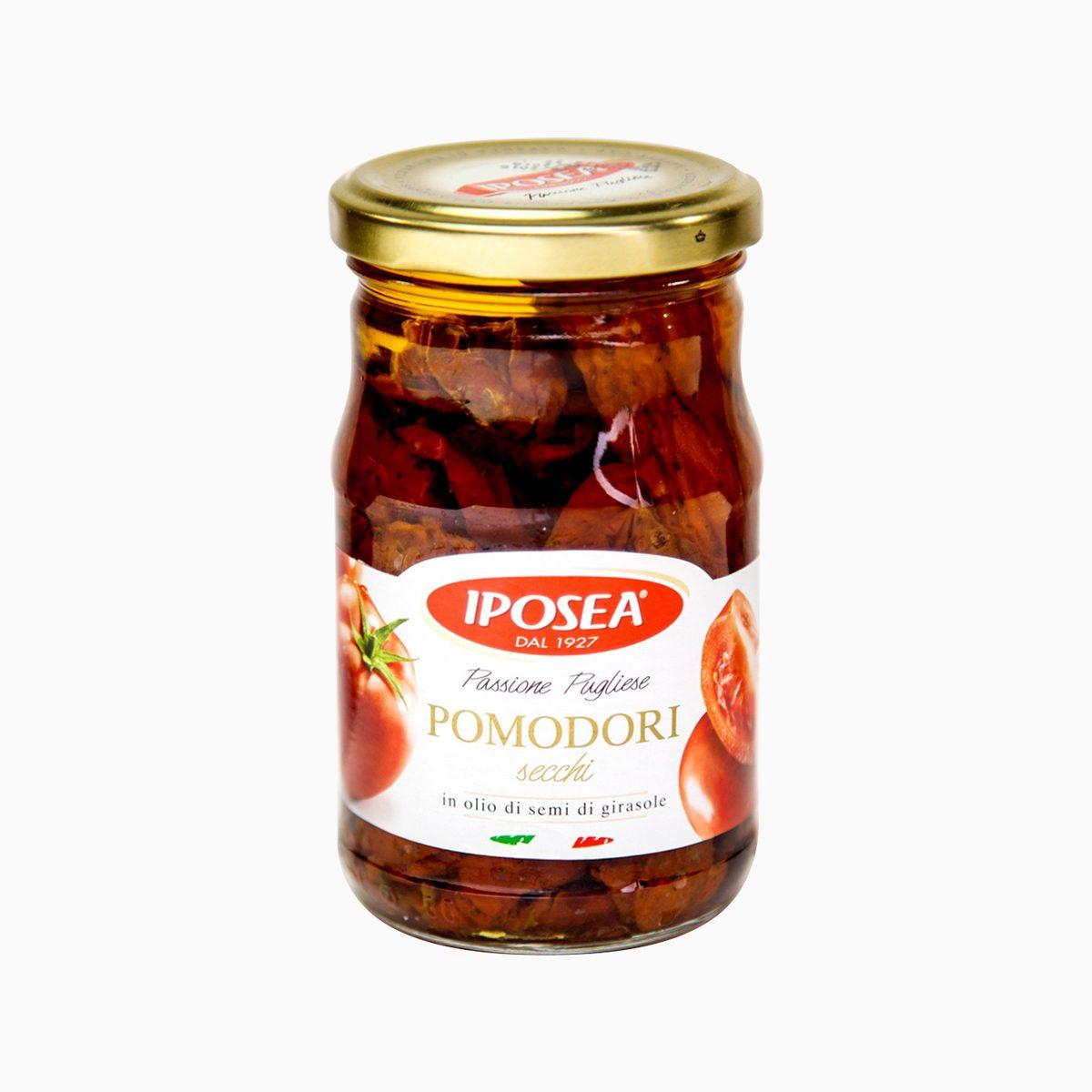 Томаты сушеные в масле, Iposea, 280 гр