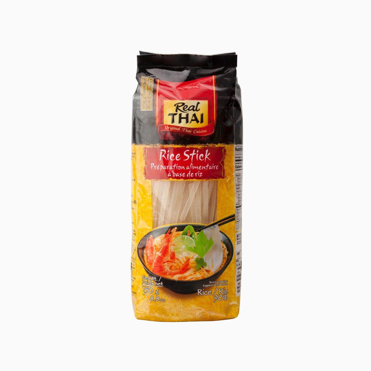 Лапша рисовая 10 мм, Real Thai