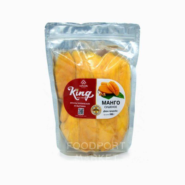 Манго сушеное King Nafoods 1 кг