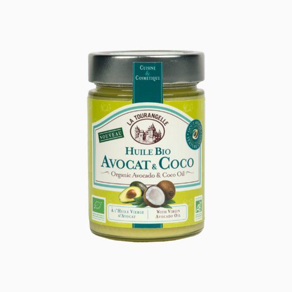 Масло Кокос и Авокадо органическое, La Tourangelle, 314 мл