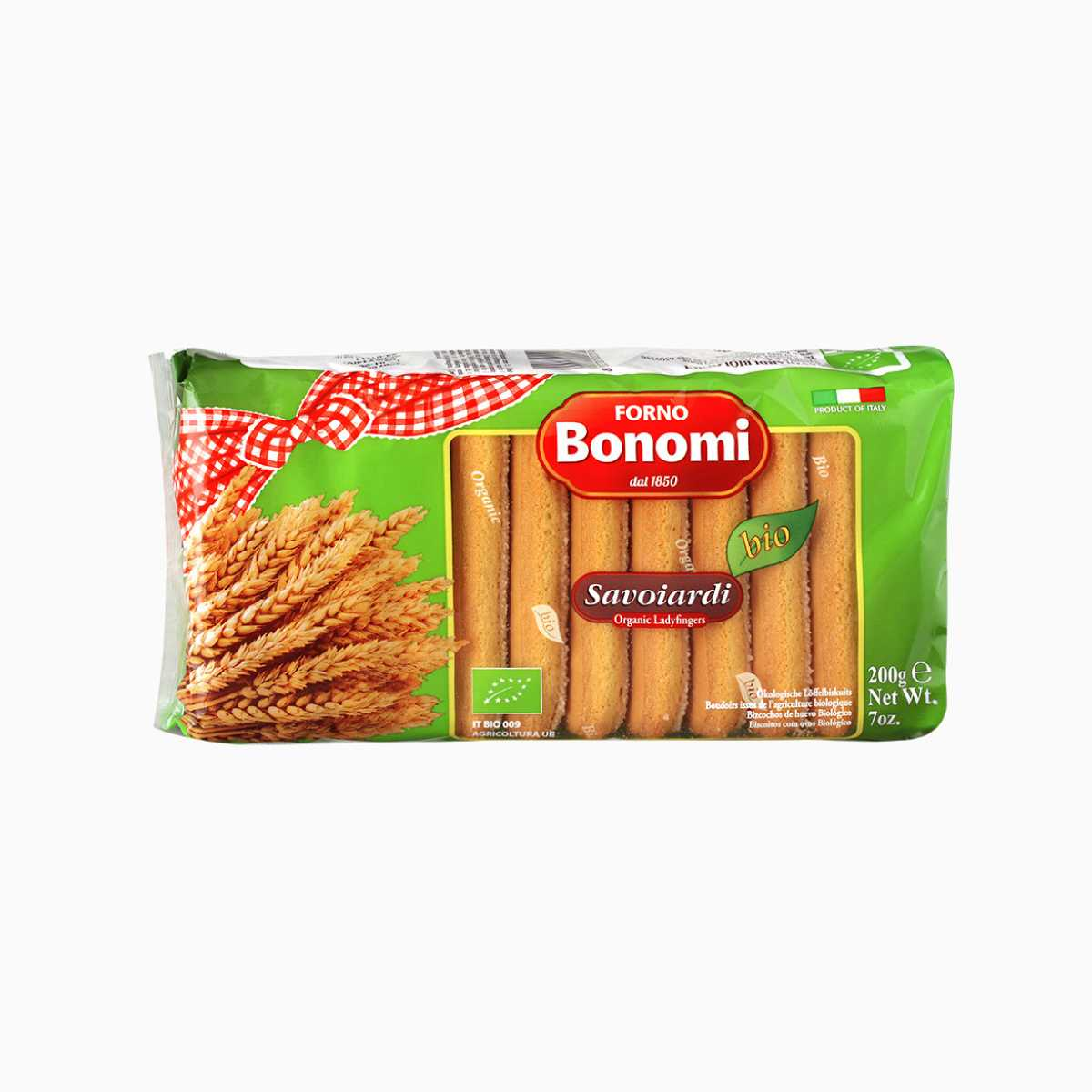 Печенье Савоярди Био, Forno Bonomi, 200 гр