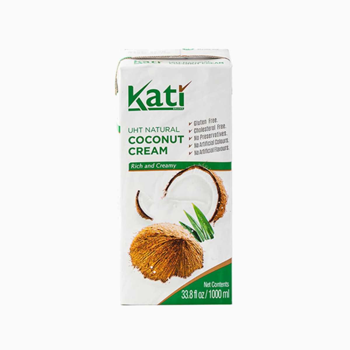 Кокосовые сливки KATI, Aroy-D, 1 л