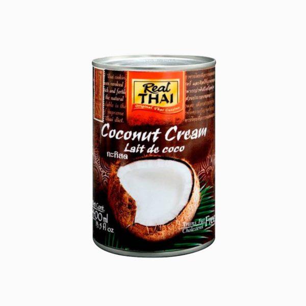 Кокосовые сливки, Real Thai, 400 мл