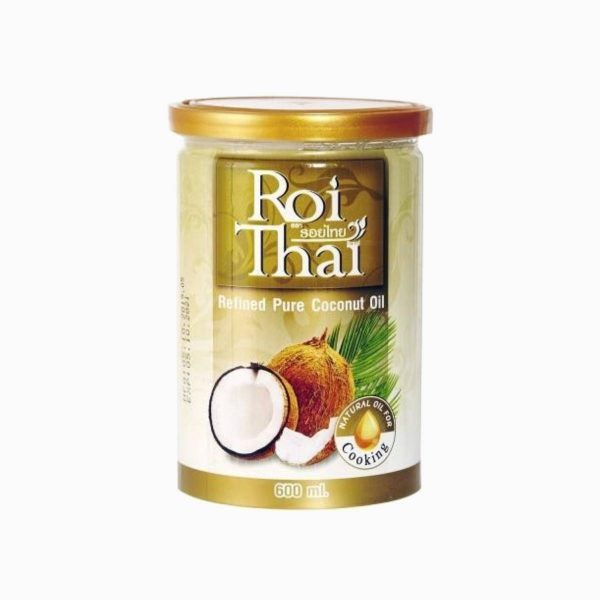 Масло кокосовое рафинированное, Roi Thai, 600 мл