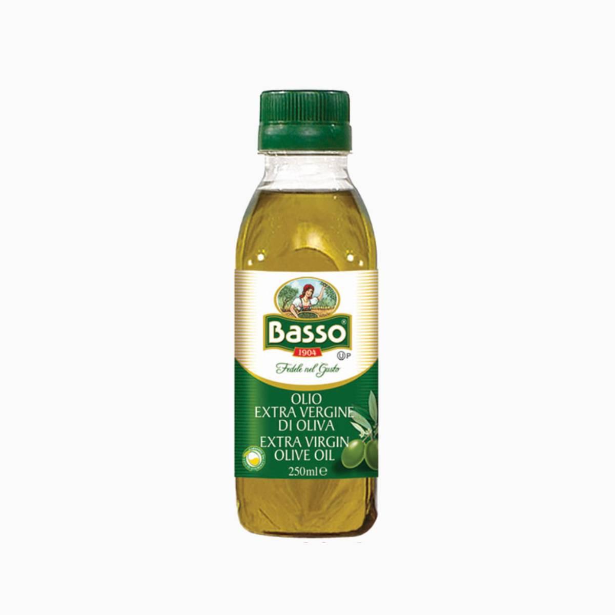 Масло оливковое нерафинированное Basso