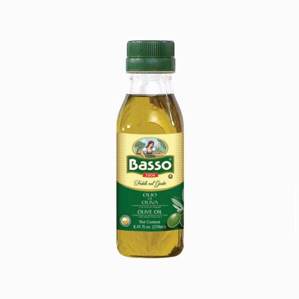 Масло оливковое рафинированное Basso