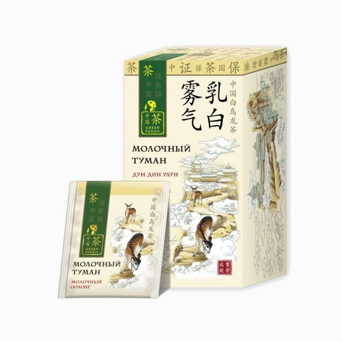 """Чай Китайский молочный оолонг """"Молочный Туман"""", Green Panda"""